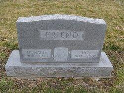 Lucy Viola <I>Fancher</I> Friend