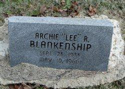 """Archie R. """"Lee"""" Blankenship"""
