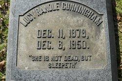 Lucy <I>Randle</I> Cunningham