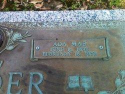 Ada Mae <I>Risner</I> Roeder