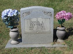 Donia Lucille <I>Harr</I> Feathers