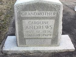 Caroline <I>Burgoon</I> Andrews