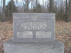 Mary Elizabeth <I>Pope</I> Parks