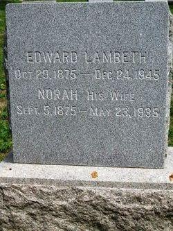 Norah <I>Patton</I> Lambeth