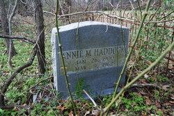 Annie <I>Moore</I> Haddock