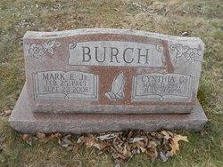 Cynthia G. <I>Unser</I> Burch
