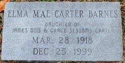 Elma Mae <I>Carter</I> Barnes
