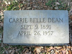 Carrie Belle Dean