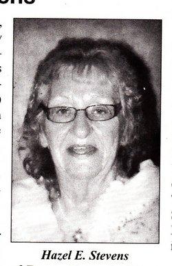Hazel E. <I>McClary</I> Stevens