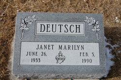 Janet Marilyn Deutsch