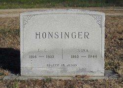 Sina Frances <I>Stinnett</I> Honsinger