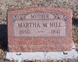 "Martha Matilda ""Winnie"" <I>Harp</I> Hill"