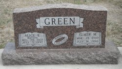 Alice Elizabeth <I>Matson</I> Green