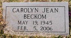 Carolyn Jean Beckom