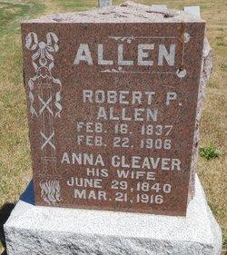Anna <I>Cleaver</I> Allen