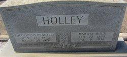 Martha A <I>Mock</I> Holley