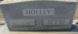 """Theophilus Brantley """"Opp"""" Holley"""