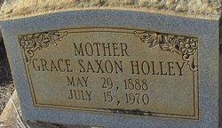 Grace <I>Saxon</I> Holley