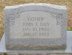 John Earl Ivey