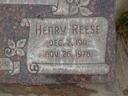 Henry Reese Anderson