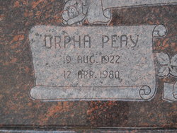 Orpha Peay Anderson
