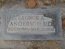 Dr George Alfred Anderson