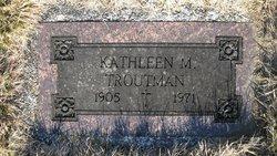 Kathleen Marie <I>Neiderer</I> Troutman