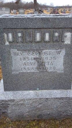 Rev George W. Orndorf