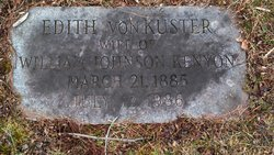 Edith <I>Von Kuster</I> Kenyon