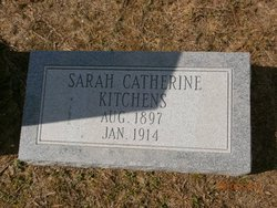 "Sarah Catherine ""Sadie Kate"" Kitchens"