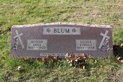 Anna <I>Meyer</I> Blum