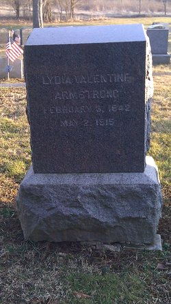 Lydia <I>Valentine</I> Armstrong