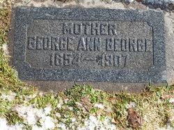 """George Ann """"Annie"""" <I>Hawkins</I> George"""
