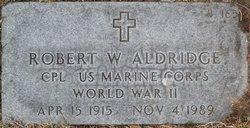 Robert William Aldridge