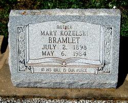 Mary <I>Kozielski</I> Bramlet