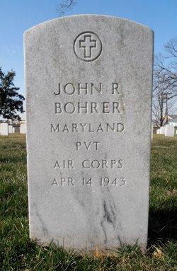 Pvt John R Bohrer