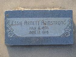 """Esther """"Essie"""" <I>Arnett</I> Armstrong"""