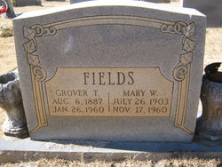 Mary <I>Webster</I> Fields