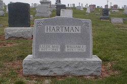 """Elizabeth Mae """"Lizzie"""" <I>Hartman</I> Hartman"""