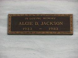 Algie D Jackson