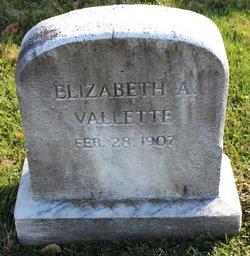 Elizabeth A. <I>Maupay</I> Vallette