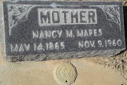 """Nancy Matilda """"Tillie"""" <I>Hooper</I> Mapes"""