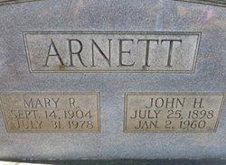 Mary <I>Reynolds</I> Arnett