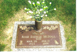 "Rose Estelle ""Bebe"" <I>Phelps</I> McNall"