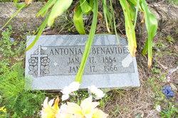 Antonia <I>Santos</I> Benavides