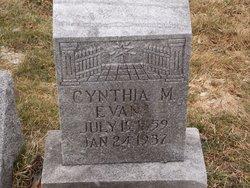 Cynthia Margaret <I>Huston</I> Evans