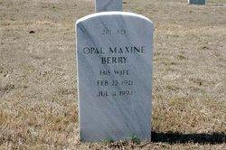 Opal Maxine Berry