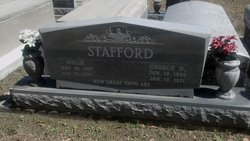 Willie Myrtle <I>Allen</I> Stafford