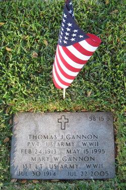 Thomas J Gannon