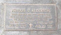 Phyllis Lavern <I>Boston</I> Alderson